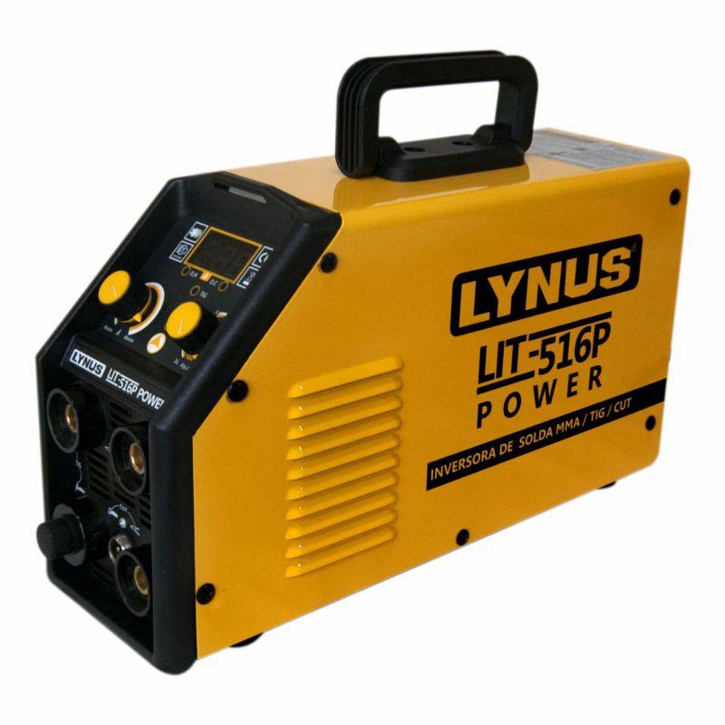 Inversora de Solda MMA / TIG / CUT 220V LIT-516P - LYNUS
