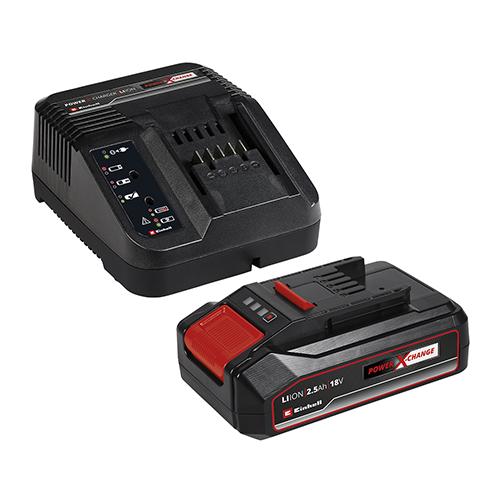 Kit Inicial Bateria 2,5Ah + Carregador 18V Bivolt - Einhell