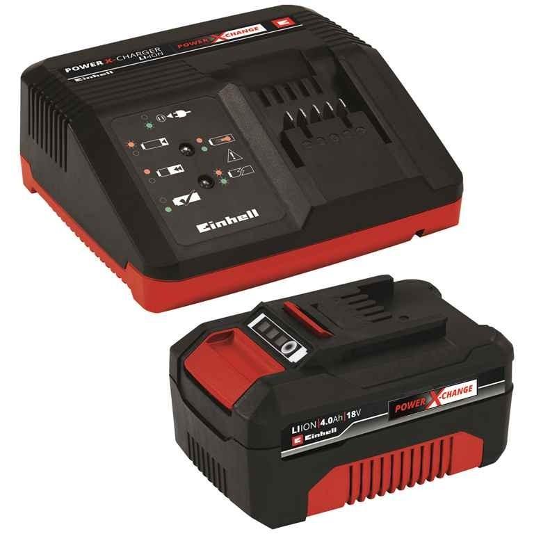 Kit Inicial PXC Carregador Bivolt e Bateria 18V 4Ah - Einhell