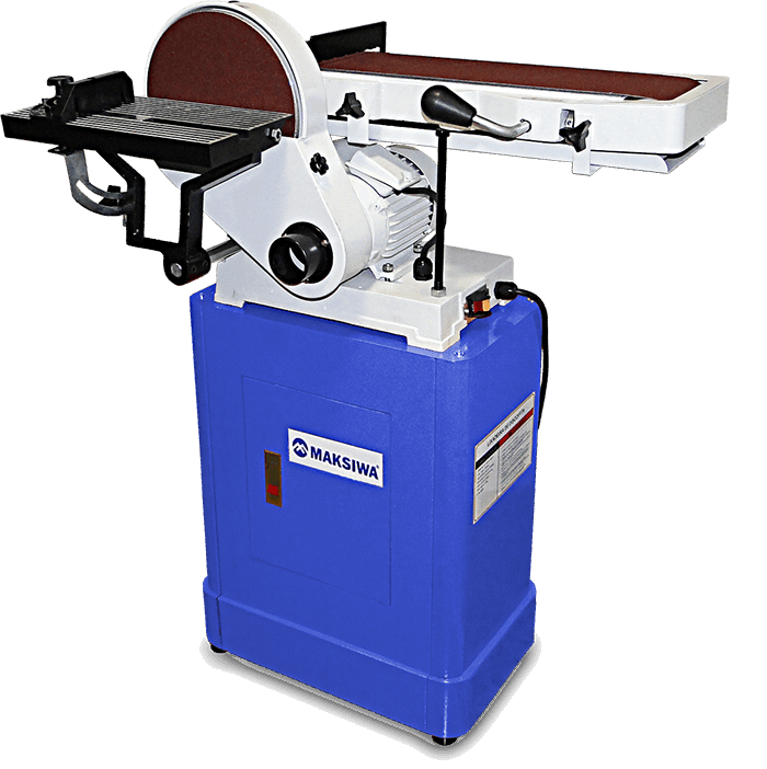 Lixadeira de Disco e Fita c/ Motor 3/4CV LDF - MAKSIWA
