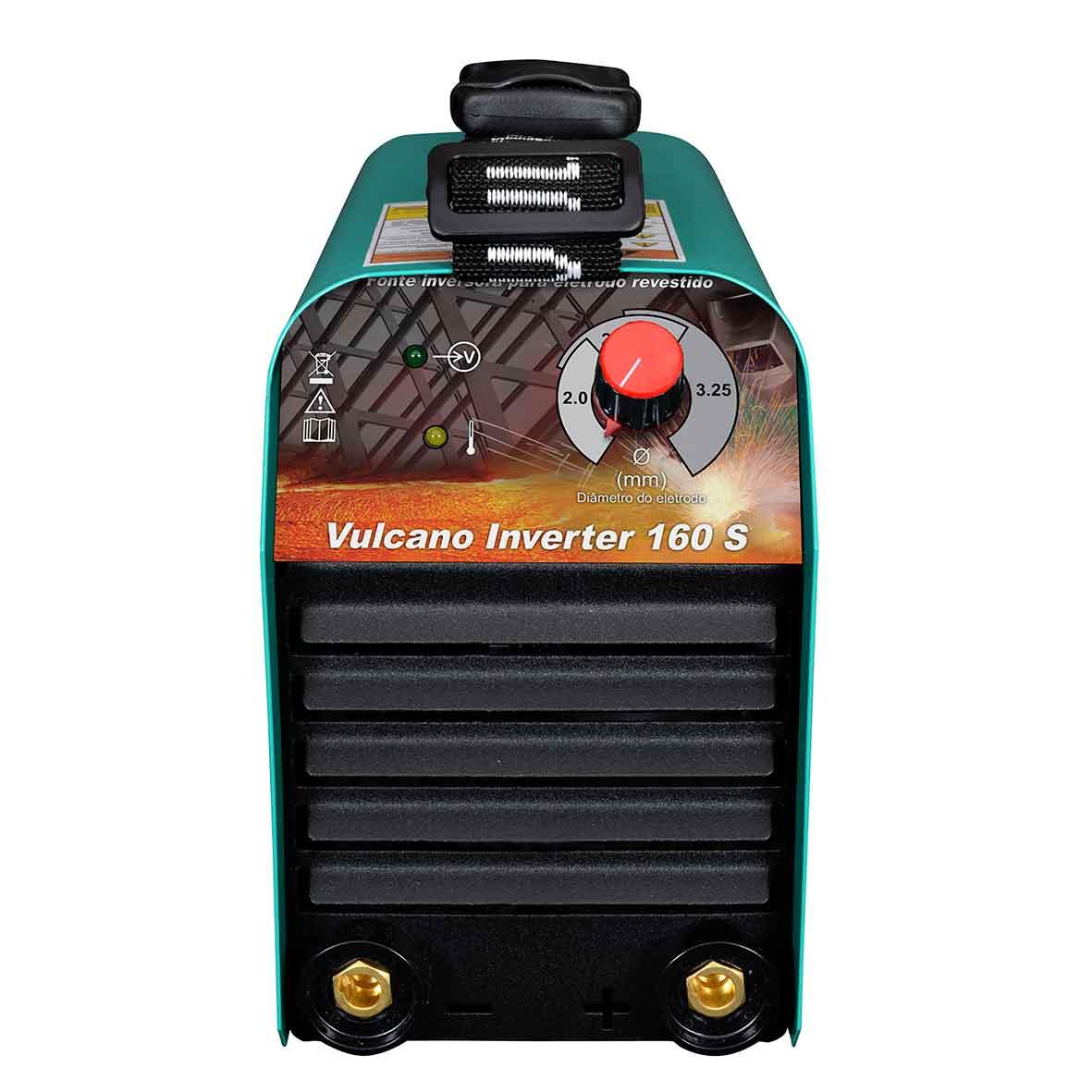 Máquina de Solda 145A 220V Vulcano Inverter 160S - Balmer