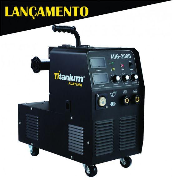 Máquina de solda 3 em 1 MIG / TIG / Eletrodo - Titanium