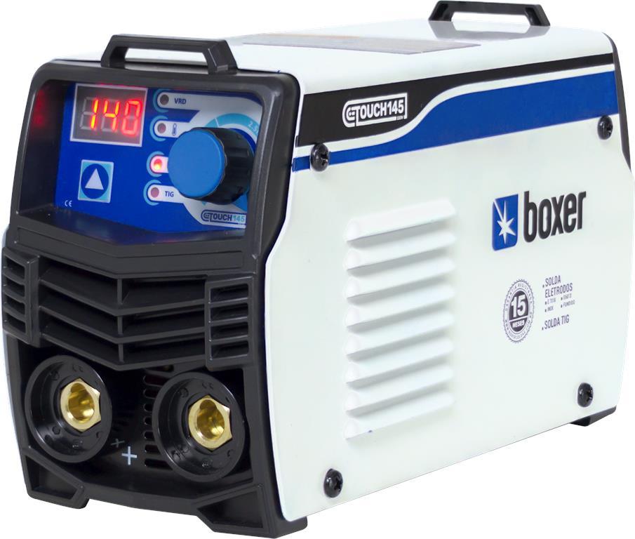 Máquina de Solda Inversora 140A 220V TOUCH 145 - Boxer