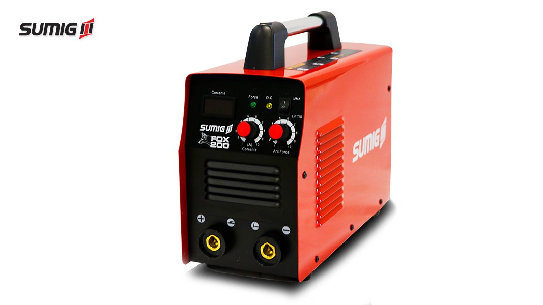 Máquina de Solda Inversora 200A 220V Fox 200 - Sumig