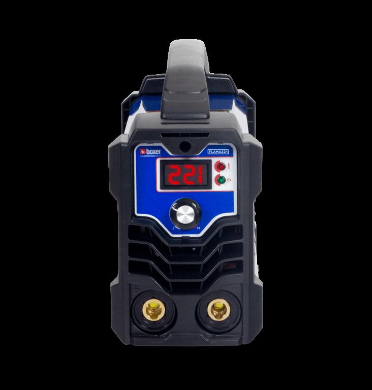 Máquina de Solda Inversora 220A 220V Mono FLAMA 221 - Boxer
