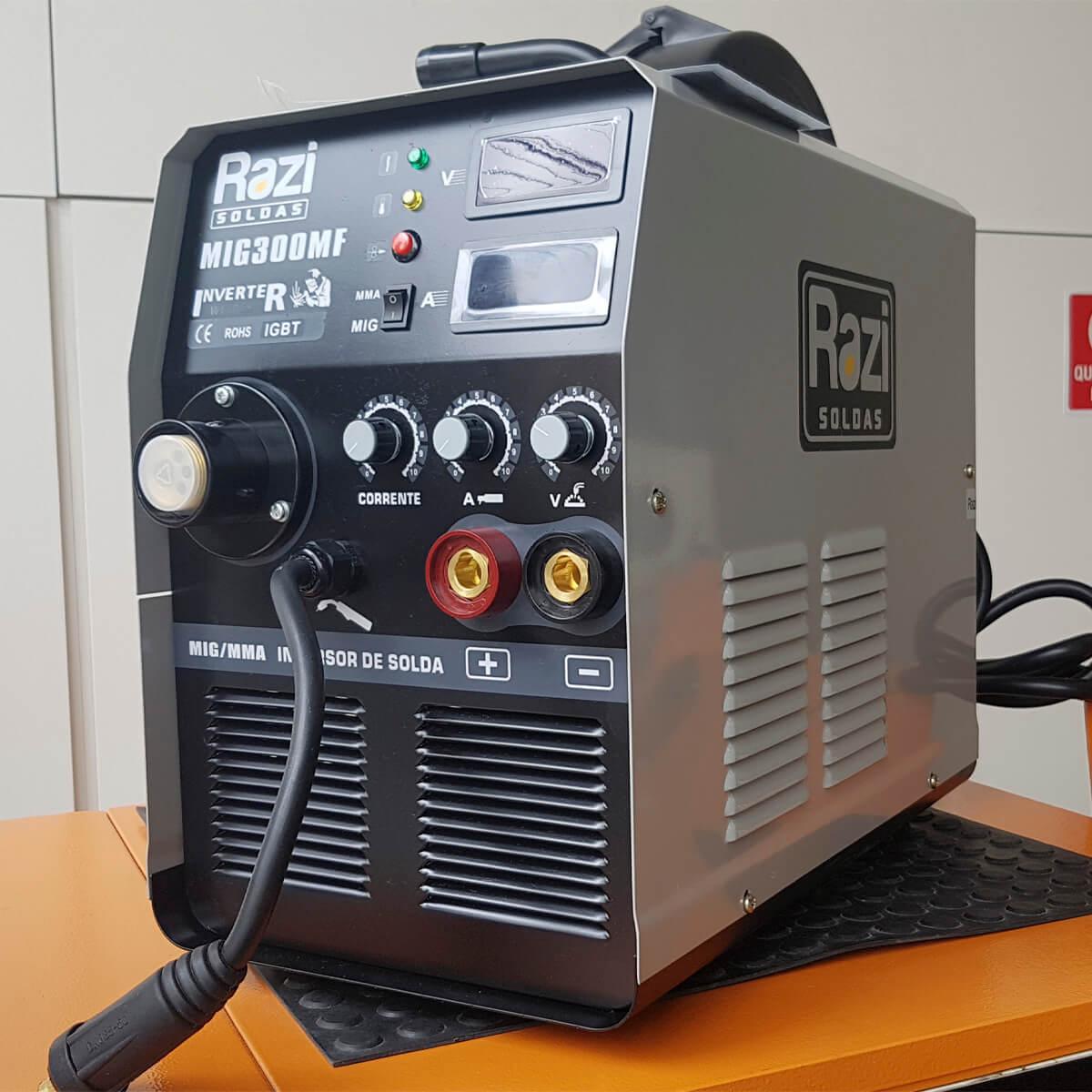 Máquina de Solda Mig 300 MF-220v Monofásica - Razi