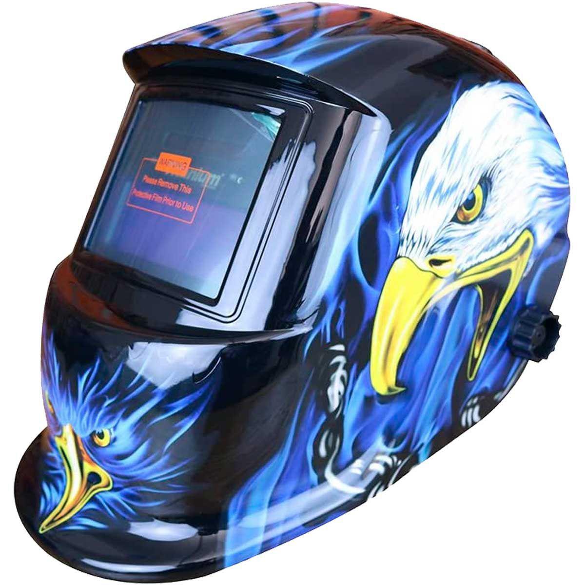 Máscara de Solda Automática Tonalidade 11 Fixa - Águia - Titanium