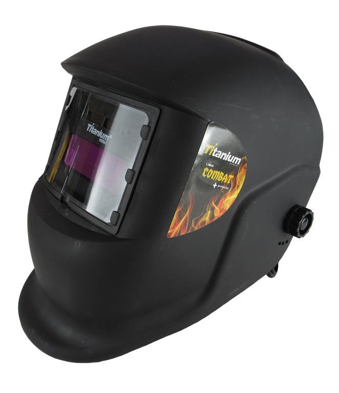 Máscara de Solda Automática Tonalidade 11 Fixa - Combat - Titanium