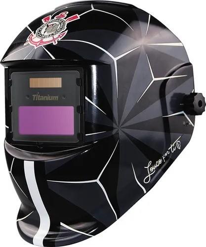 Máscara de Solda Automática Tonalidade 11 Fixa - Corinthians - Titanium
