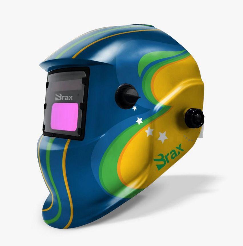 Máscara De Solda Com Automática Com Regulagem: Brasil - BRAX