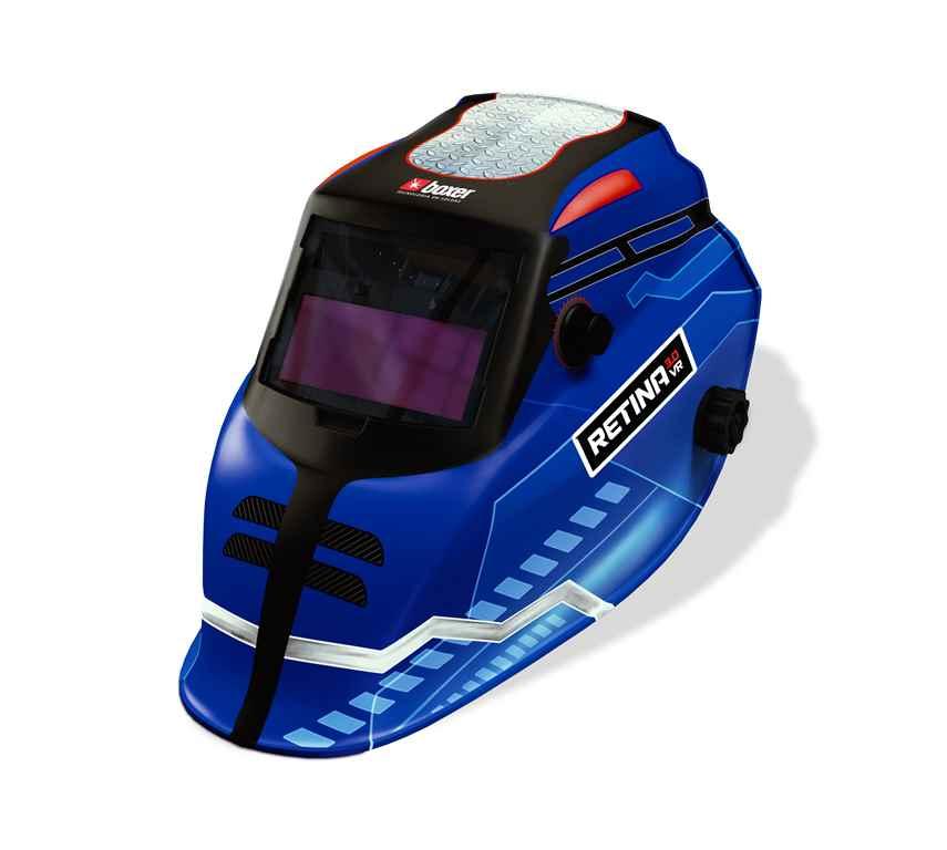 Máscara de Solda com Escurecimento Automático e Filtro Regulável RETINA 3.0 VR - Boxer Soldas