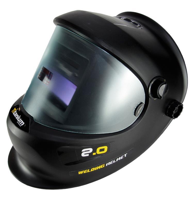Máscara de Solda Regulável com Escurecimento Automático Millenium 2.0 - Titanium