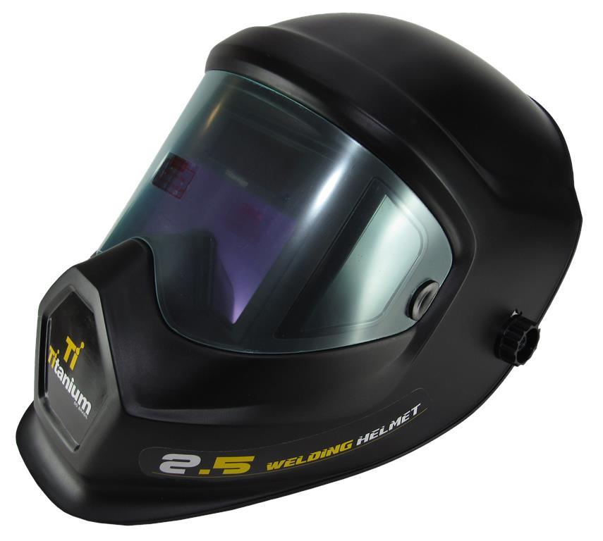 Máscara de Solda Regulável com Escurecimento Automático Platinum 2.5 - Titanium