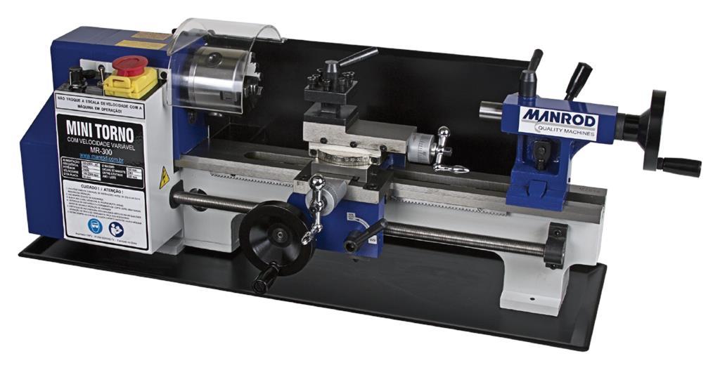 Mini Torno Modelo MR-300 - Manrod