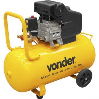 Motocompressor de ar 25 Litros 127V MCV 25 - VONDER