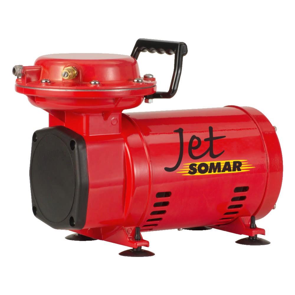 Motocompressores de Diafragma 1/3cv 60Hz 110/220V Jet Somar MS 2,3 - Somar by Schulz