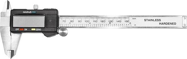 Paquímetro Digital 150mm com display LCD - MTX