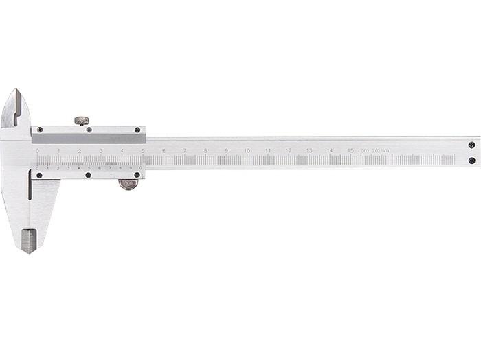 Paquímetro Universal Metálico 150M Passo 0,02mm Com Medidor de Profudidade - MTX