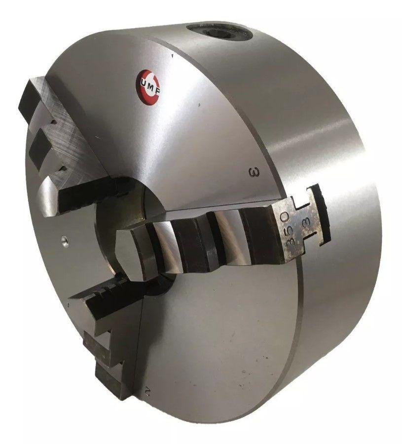 Placa de Torno Universal Autocentrante 3 Castanhas 205mm - UMP