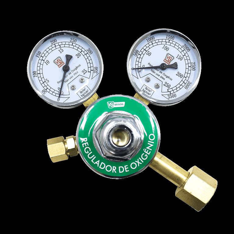 Regulador de Pressão Oxigênio - V8 Brasil