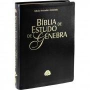 Bíblia de Estudo de Genebra Edição Revisada e Ampliada Luxo