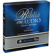 Bíblia em Áudio Completa NTLH em MP3, 9 CD's-ROM