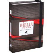 Bíblia Fonte de Bênçãos com Caderno e Anotação - Capa Tradicional