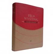 Bíblia Ministerial NVI - Capa Luxo com Índice