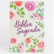 Bíblia NVT Letra Grande - Textura Floral