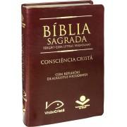 Bíblia Sagrada Consciência Cristã - Edição Com Letras Vermelhas