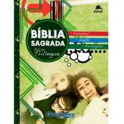 Bíblia Sagrada Edição Trilíngue - Brochura