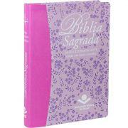 Bíblia Sagrada Letra ExtraGigante - Com Índice e Letras Vermelhas - ARC