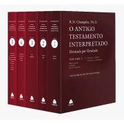 Livro Antigo Testamento Interpretado 5 Volumes