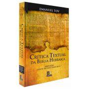 Livro Crítica Textual da Bíblia Hebraica