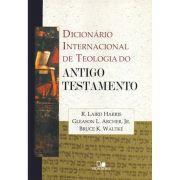Livro Dicionário Internacional de Teologia do Antigo Testamento
