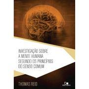 Livro Investigação Sobre a Mente Humana Segundo os Princípios do Senso Comum