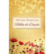 Minha Pequena Bíblia de Oração Almofadada Flores do Campo