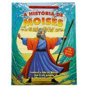 Os Livros da Bíblia em Adesivos - A História de Moisés