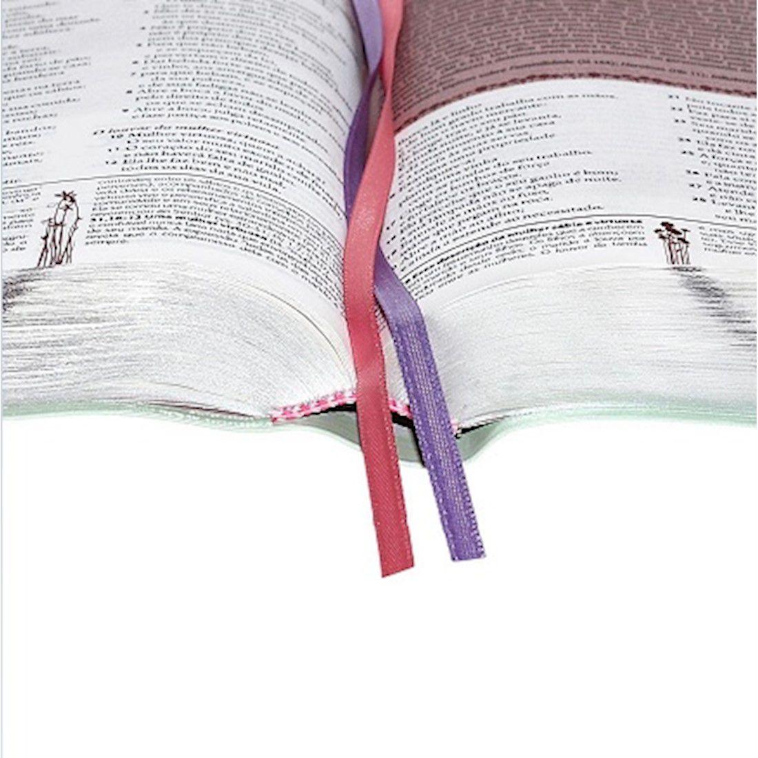 A Bíblia da Mulher Grande RA - Flores Tulipa
