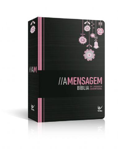 Bíblia A Mensagem Semi - Luxo Feminina