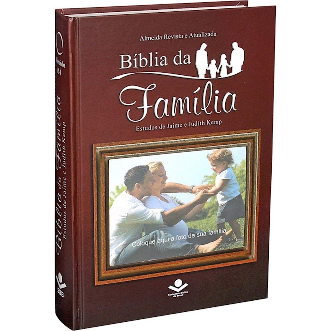 Bíblia da Família com Janela para Foto