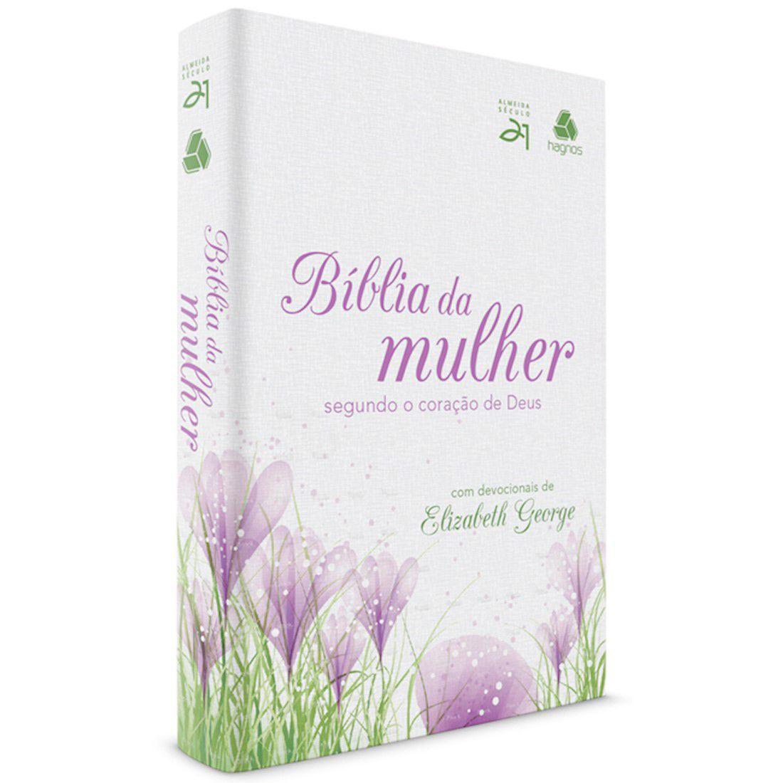 Bíblia da Mulher Segundo o Coração de Deus - Florais