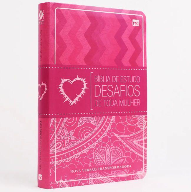 Bíblia de Estudo Desafios de Toda Mulher - 2ª edição NVT