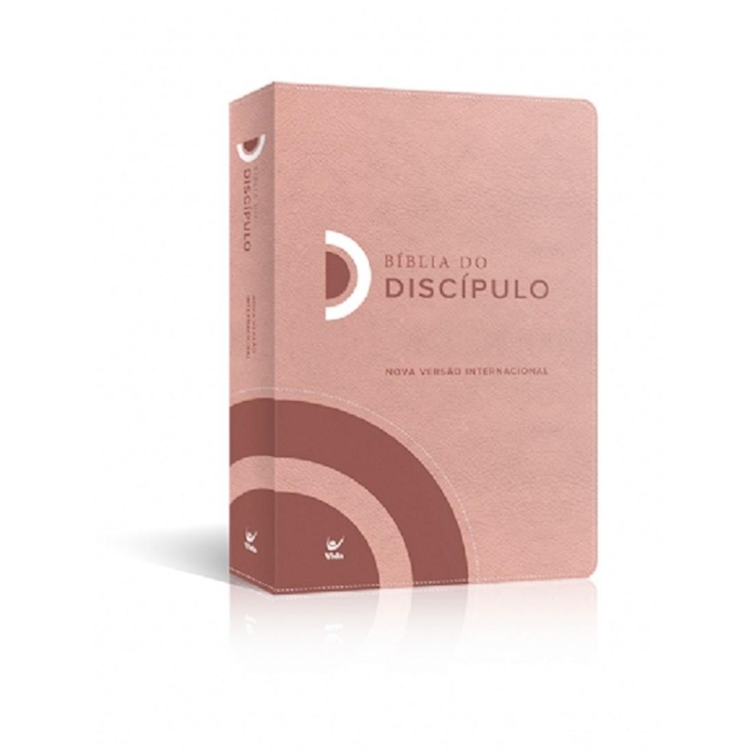 Bíblia do Discípulo NVI Capa Luxo