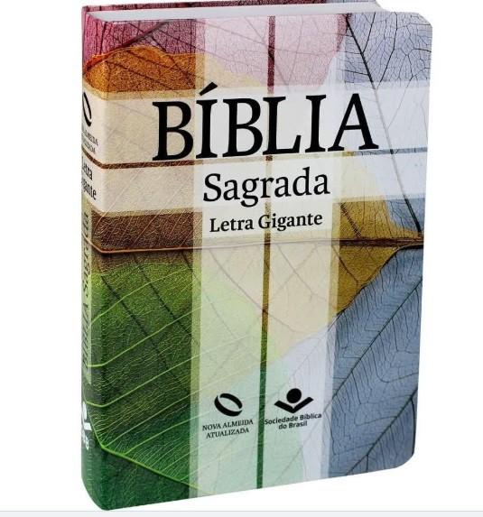 Bíblia Nova Almeida Atualizada Letra Gigante