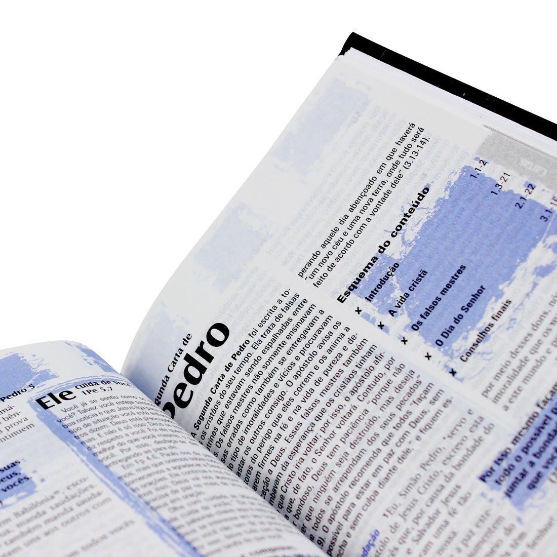 Bíblia Sagrada Edição com Notas para Jovens
