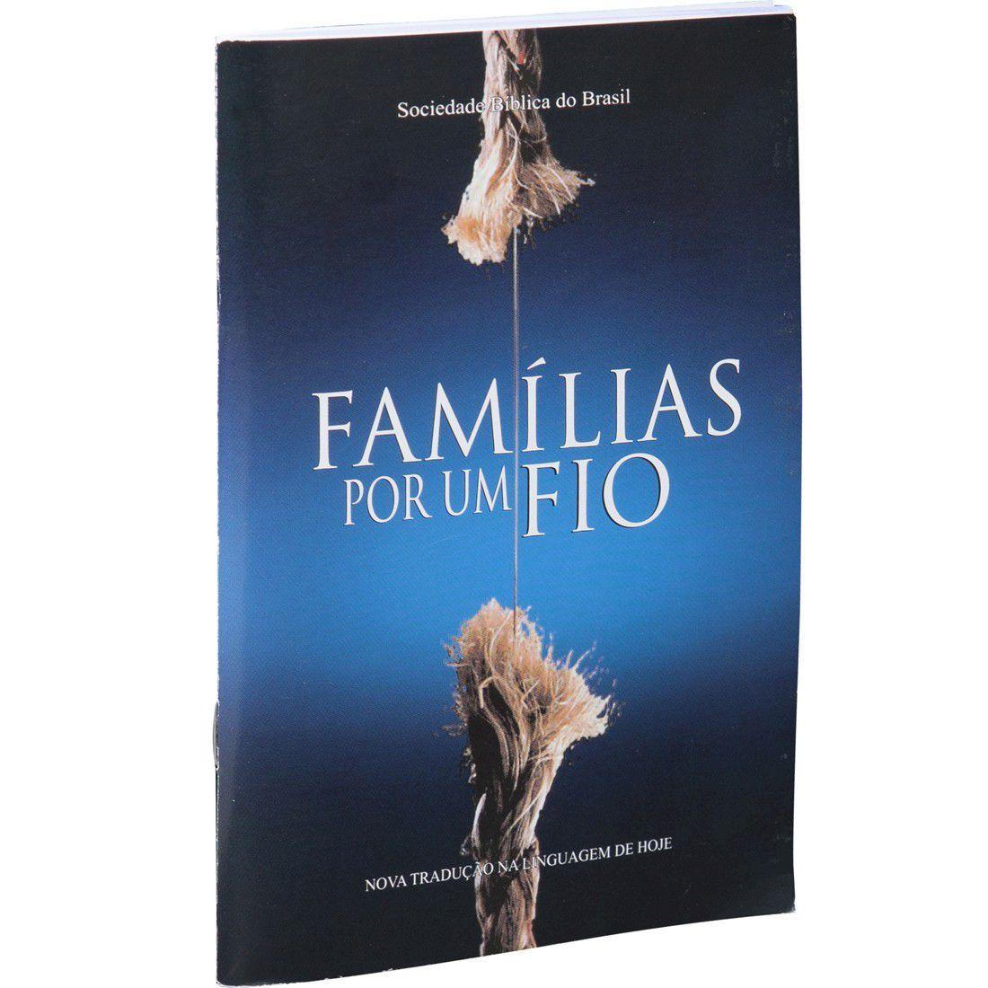 Livreto Famílias Por Um Fio