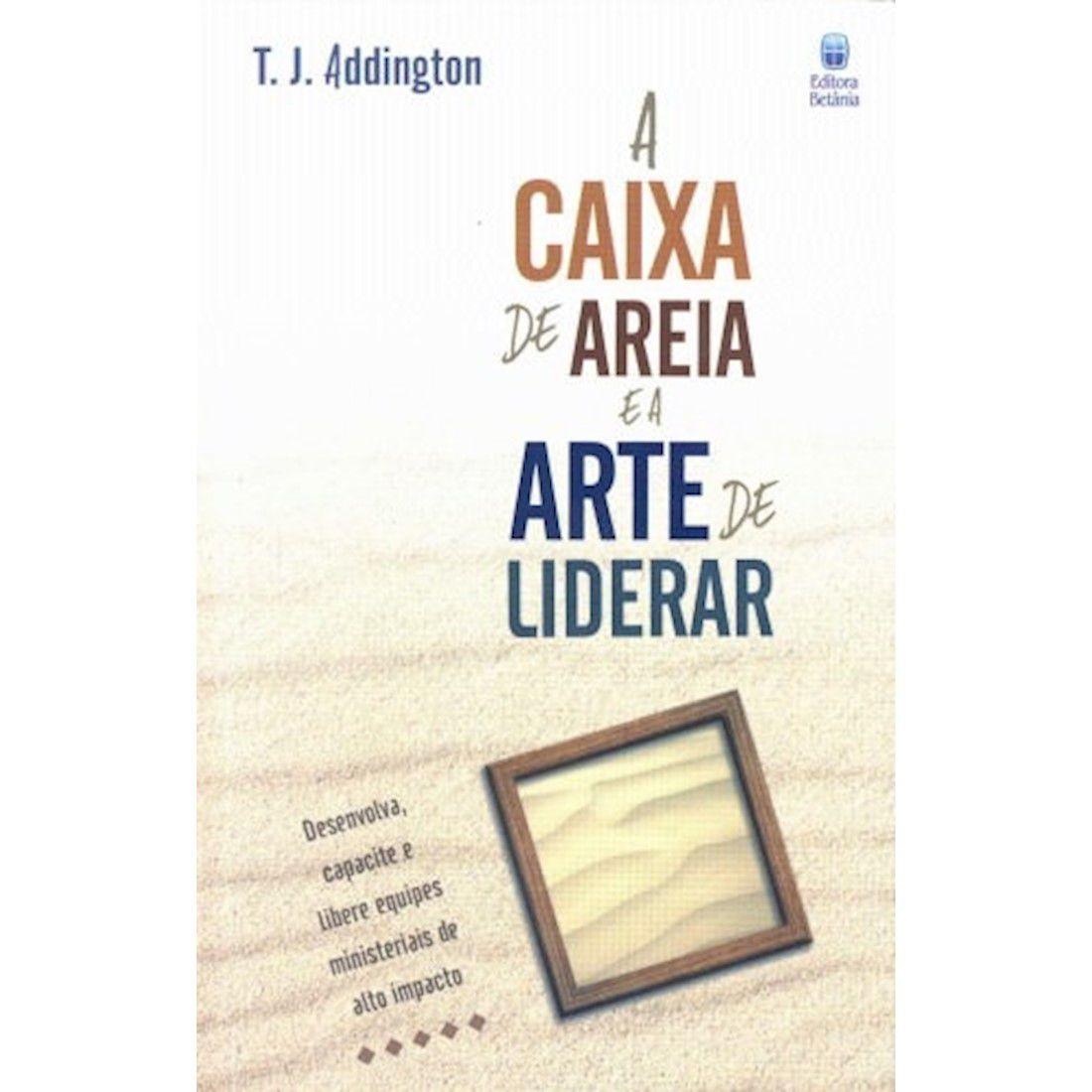 Livro A Caixa de Areia e a Arte de Liderar