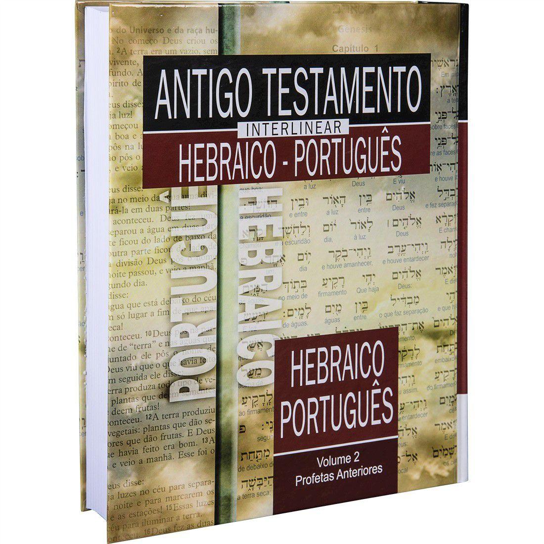 Livro Antigo Testamento Interlinear Hebraico-Português Volume 2