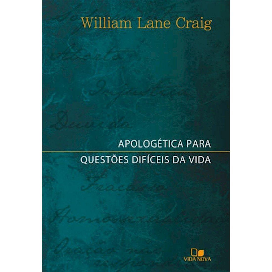 Livro Apologética para Questões Difíceis da Vida